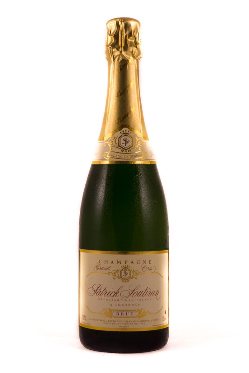 Champagne Patrick Soutiran Blanc de Noirs Grand Cru